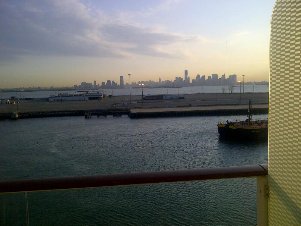 Manhattan Skyline on our return