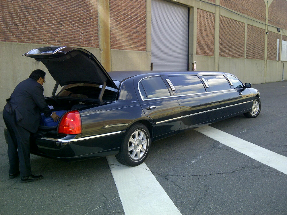 Our Limo to the airport