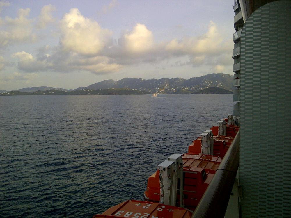 Wansbrough39s Cruise Blog  Postcard 51 Charlotte Amalie
