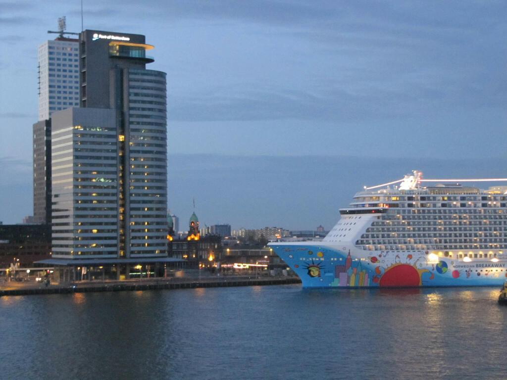 Norwegian Breakaway Arrives in Rotterdam