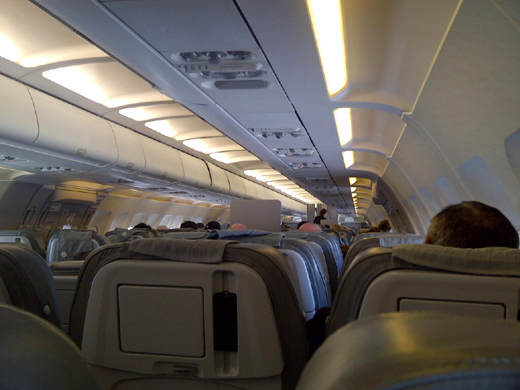 View from my seat 30F on Alitalia Airbus 321