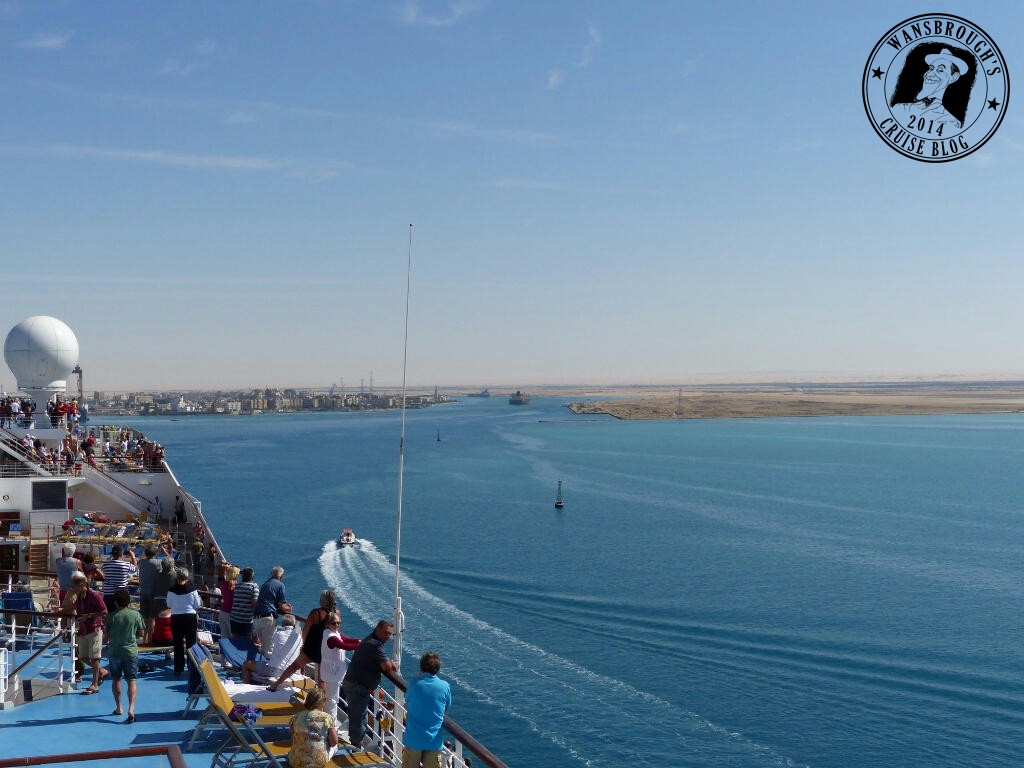 Entry into Suez Canal
