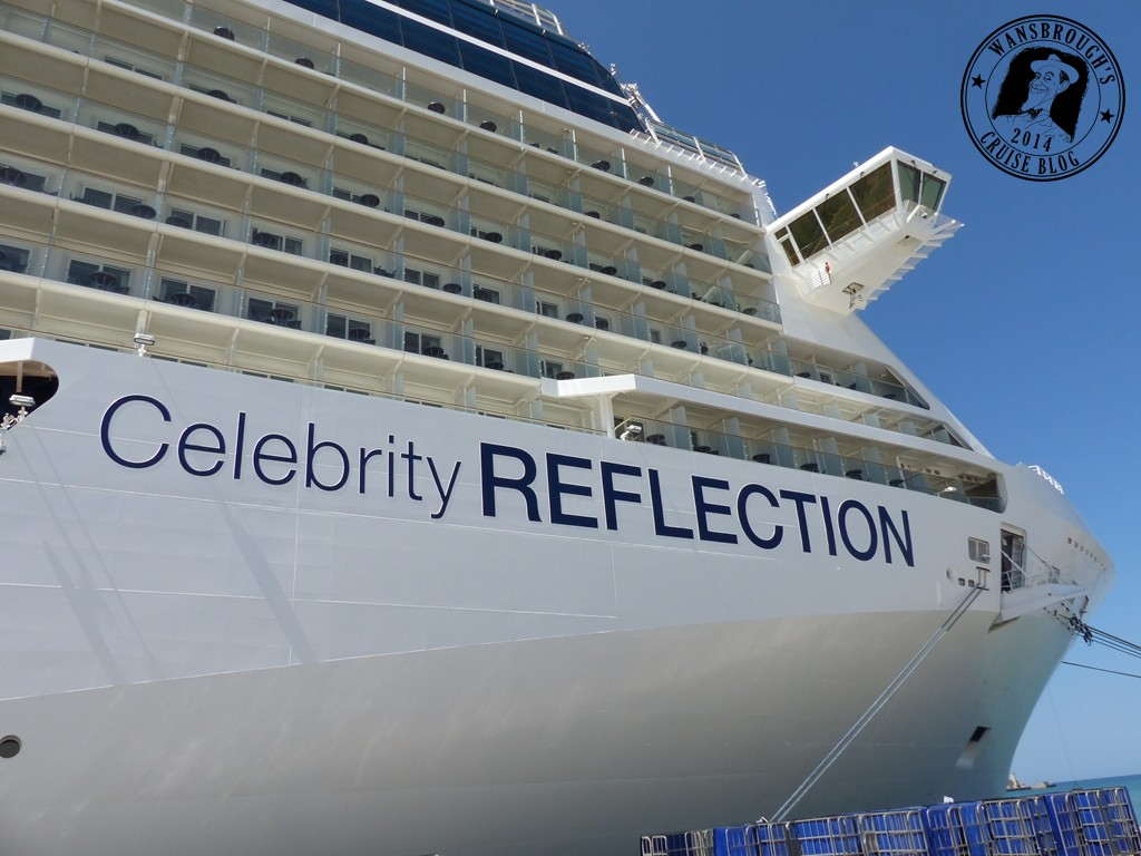 wansbrough s cruise blog 2014 celebrity reflection eastern getting up close for the first time