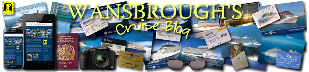 Wansbrough's Cruise Blog