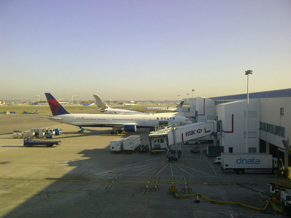 Our plane awaits........
