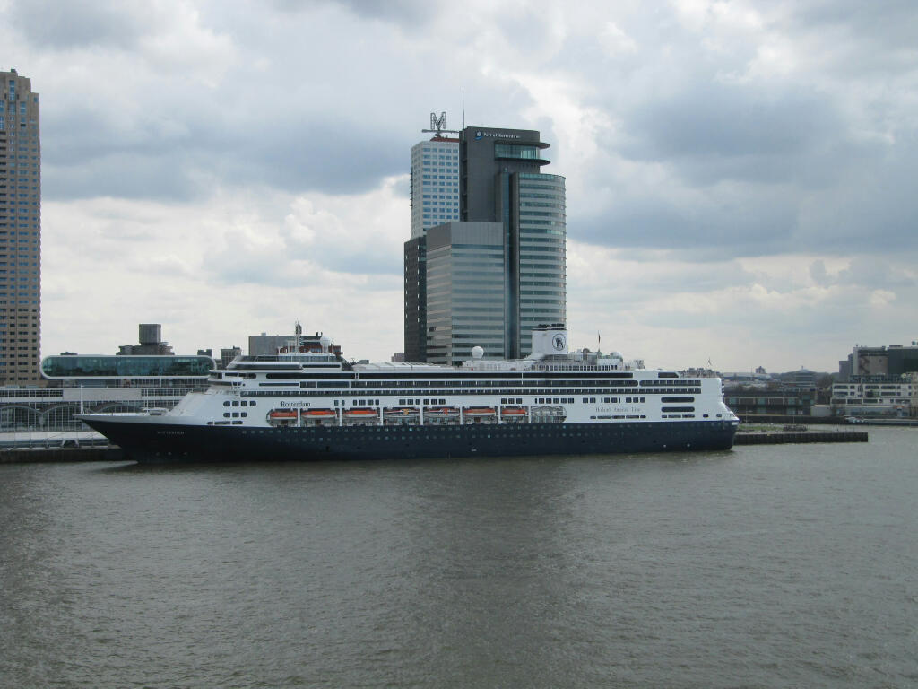 HAL Rotterdam viewed from our hotel window