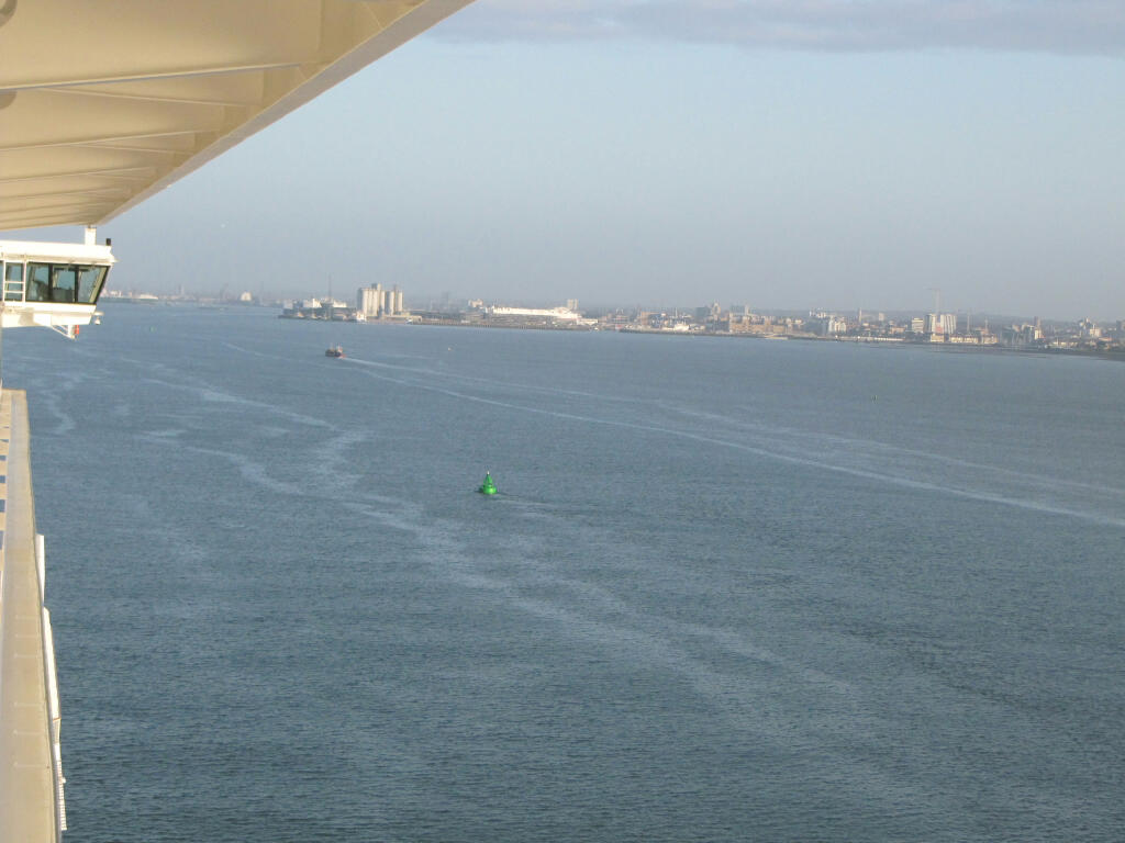 The approach to Southampton