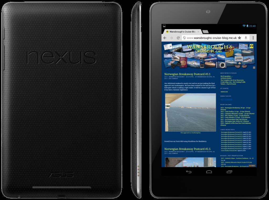 Asus-Google Nexus 7