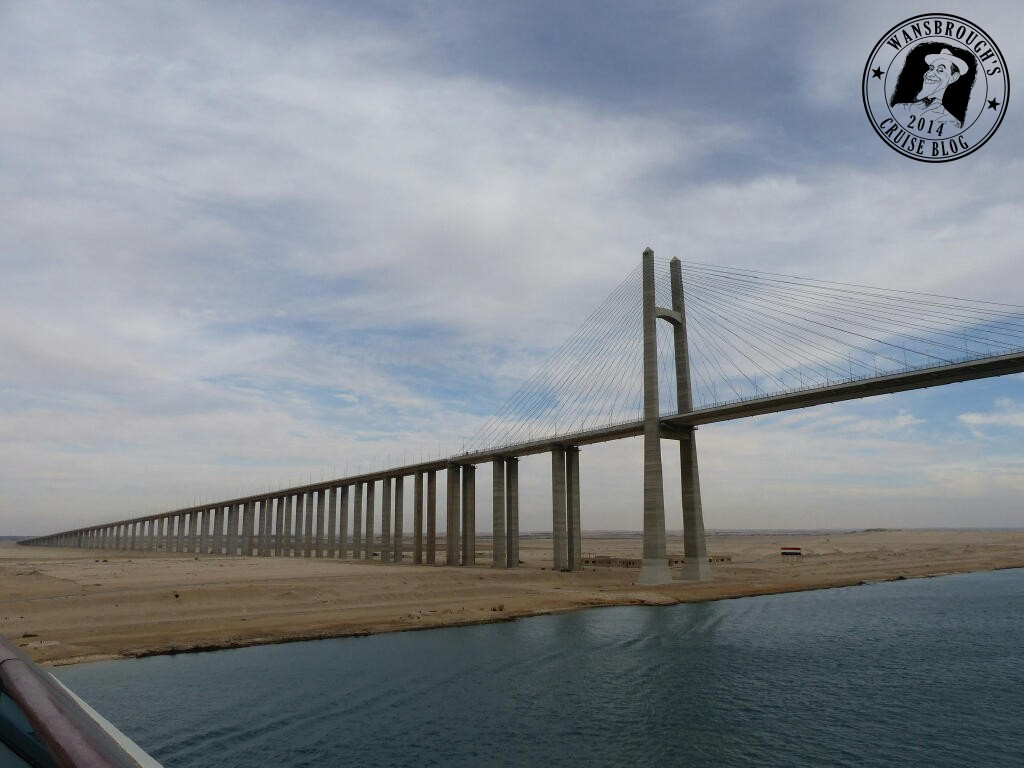 Al Salam Bridge, Sinai side